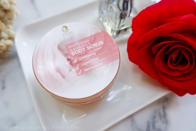 Review Whitenging Advance Body Scrub eBright Skin, Body Scrub yang Wanginya bikin Jatuh hati
