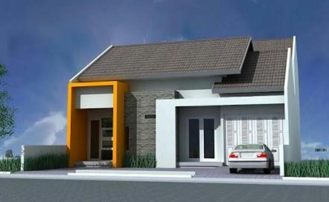 Bentuk Rumah Sederhana tapi Elegan dan Mewah, model rumah sederhana kelihatan mewah