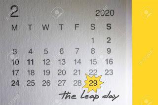 Kalender tanggal 29 february