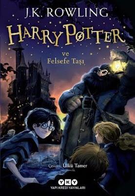 Kitap Yorumları, J. K. Rowling, Harry Potter ve Felsefe Taşı, Harry Potter And The Philosopher's Stone, Ülkü Tamer, Yapı Kredi Yayınları, Roman, Fantastik, Edebiyat, Gençlik