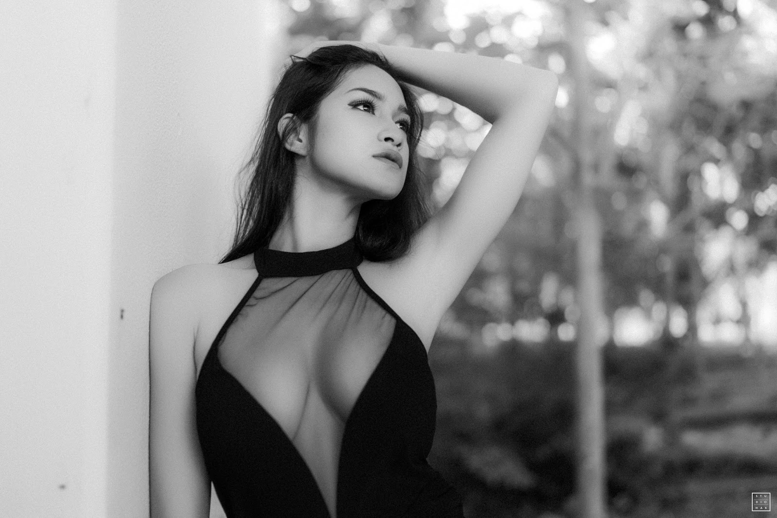 Shwe Eain Si Black And White Fashion Photoshoot By HAK Photography