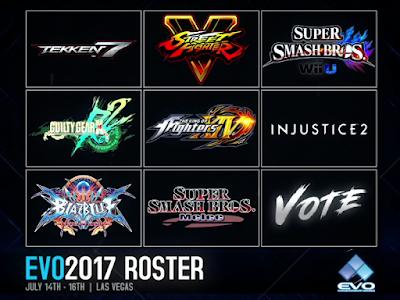 EVO 2017 - Roster