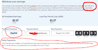 adfly payment proof & adfly payment method