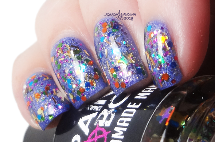 xoxoJen's swatch of Painted Sabotage Holiday Cheer