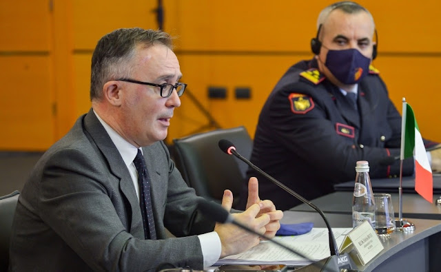 Reagisce Fabrizio Bucci al coinvolgimento delle autorità albanesi nelle intercettazioni Ndragheta
