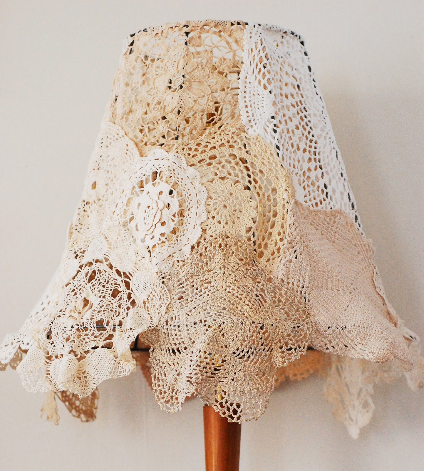 How To Make A Lamp Shade Diy Shabby Chic