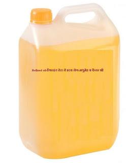 Refined oil-रिफाइंड तेल से ह्रदय रोग-मधुमेह व कैंसर भी