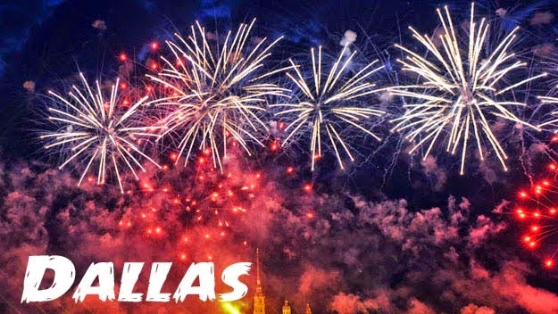 Happy New Year Eve Fireworks Images 2018 dallas