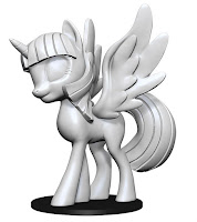 My Little Pony WizKids Deep Cut Miniature Twilight Sparkle