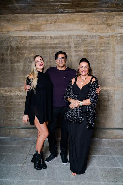 Luhanna, Luciano e Beth Szafir