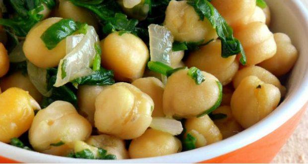 receita de salada de grao de bico