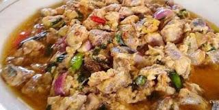 Ikan Gohu makanan khas maluku