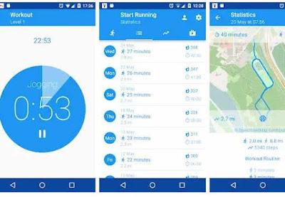 Aplikasi Stopwatch Run Tracker – Berlari, Jogging, Bersepeda
