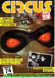 Magazine Circus, numéro 74, 1984