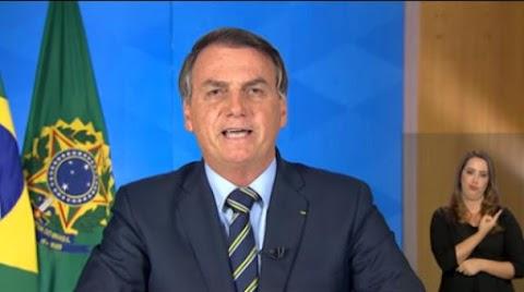 Irresponsável pronunciamento de Bolsonaro que valeu um 'panelaço'