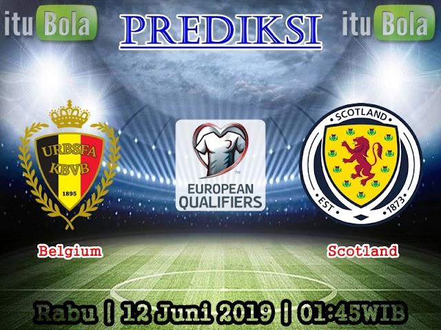 Prediksi Belgium vs Scotland - ituBola