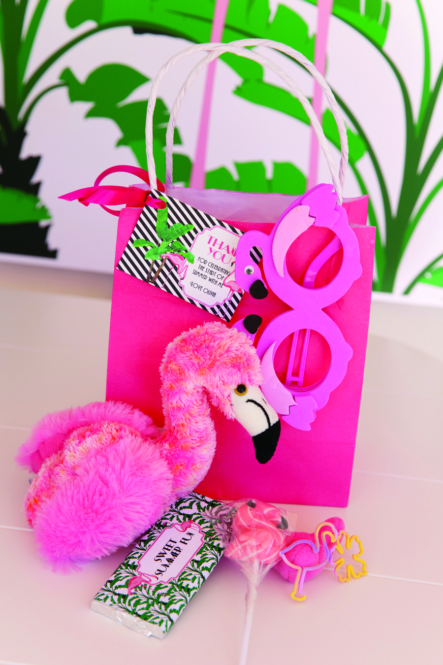 A Palm Beach Chic Flamingo Party The Glam Pad