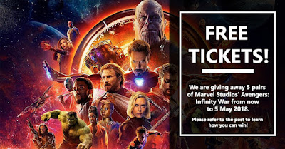 avenger tickets win singapore