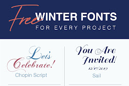 Free and Decorative Winter Fonts for Every Project