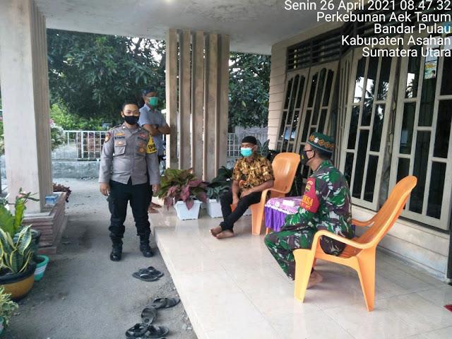 Ajak Warga Binaan Untuk Selalu Memakai Masker Jika Bepergian Dilakukan Personel Jajaran Kodim 0208/Asahan