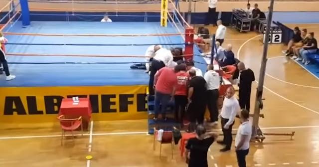 Tragedia in Scutari: il pugile bulgaro muore durante la partita