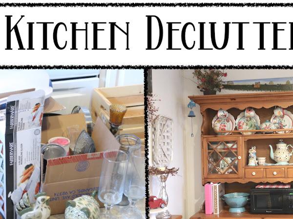 Kitchen Declutter 2021