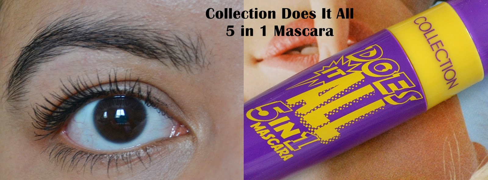 Collection Does It All 5 in 1 Mascara - Beauty by Eff