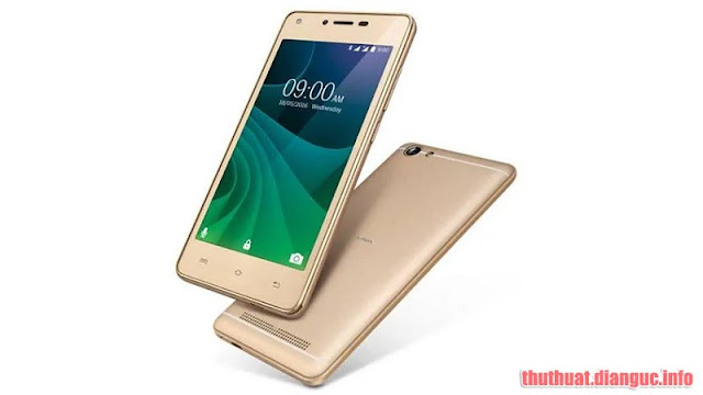Rom stock cho Lava A77 (Android 7) (pac)