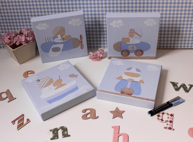 decoración-infantil-personalizada-habitación-infantil-cuadros