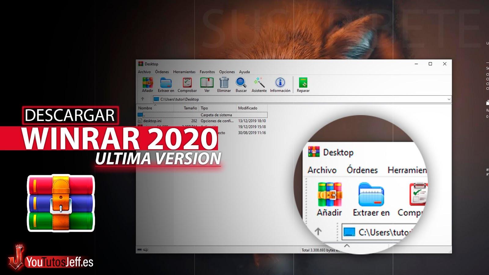 Como Descargar Winrar Ultima Versión 2020 Gratis Español