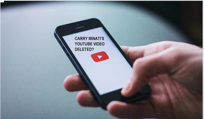 Carry Minati's Youtube Vs Tiktok Roast video taken down by YouTube?