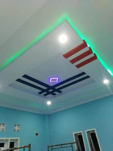 Desain plafon rumah minimalis tipe 30