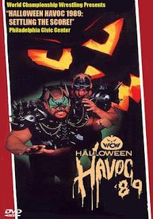 WCW Halloween Havoc 1989 - Event Poster