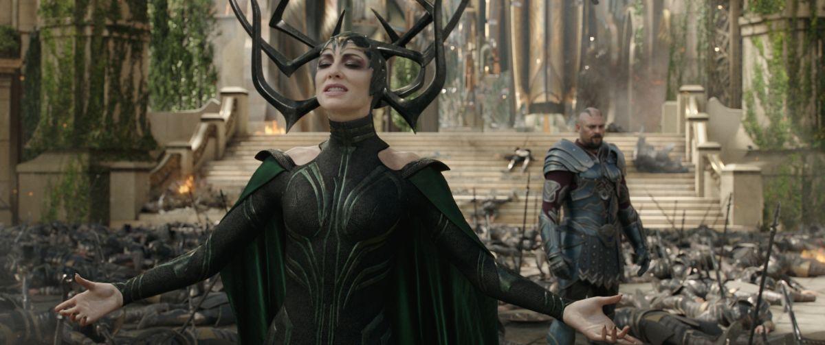 Thor: Ragnarok - Hela | Um marco eletrizante e cômico na história do heroi