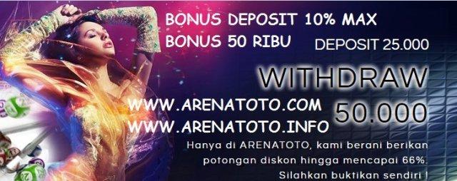 Bandar Togel Resmi Win Rate 99% : Arenatoto.com