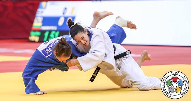 Mayra Aguiar disputou o Mundial de judô de Budapeste
