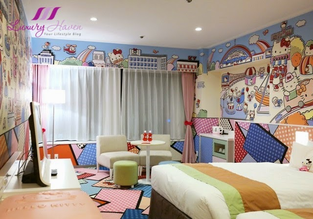 keio plaza hotel japan hello kitty character room