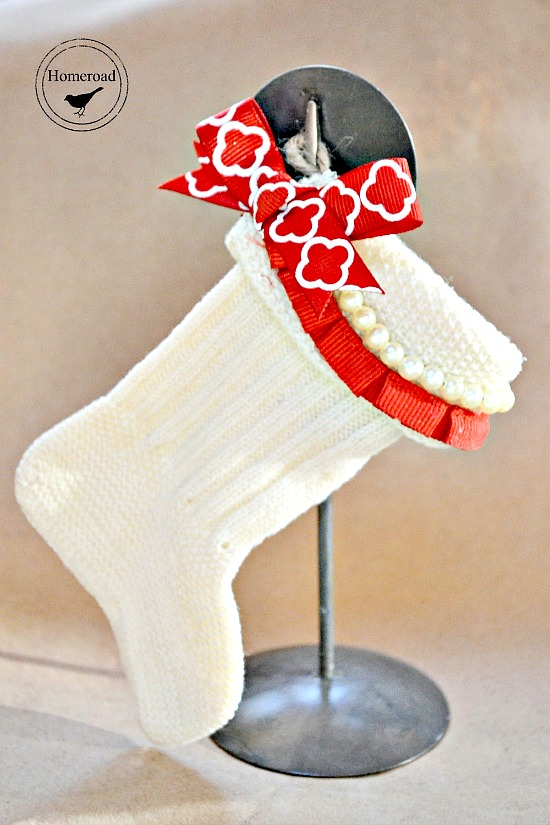 Christmas Stockings from Baby Socks