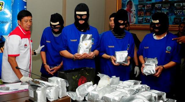 Mengerikan, Indonesia Merupakan Pasar Utama Narkoba Internasional