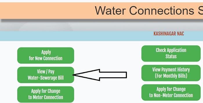 ulbodisha.gov.in pay water bill