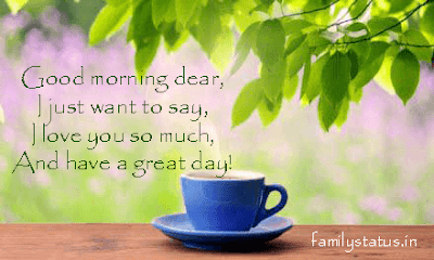 Good Morning Poems for Her family status