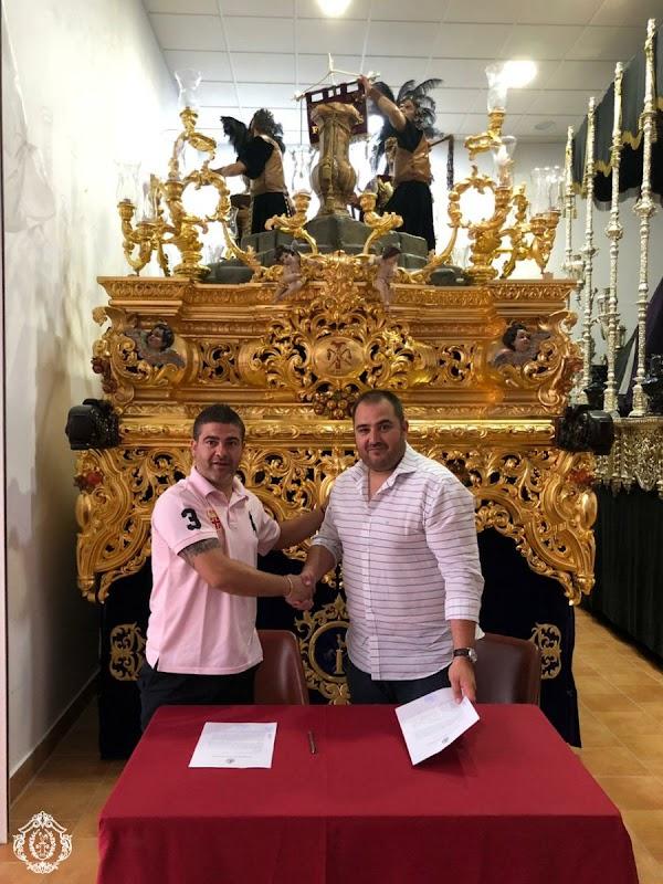 La Hermandad del Castillo de Lebrija firma con la CC. TT Gran Poder de Granada