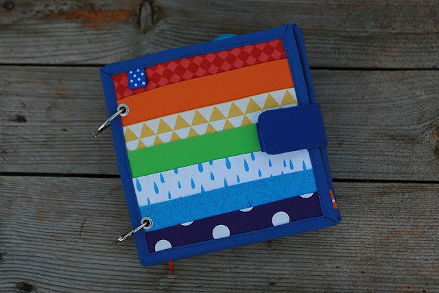 Rainbow buckles quiet book by TomToy