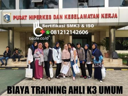 syarat training ahli k3 umum, pelatihan ahli k3 umum kemenakertrans