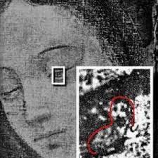 Ojo de la Virgen de Guadalupe
