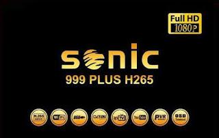 احدث ملف قنوات عربى وانجليزي لرسيفر Sonic 999 Plus H265 بتاريخ 1-6-2019