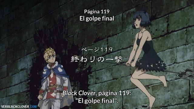 Black Clover Capítulo 119 Sub Español HD