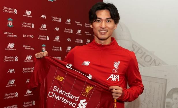 Sao Nhật Bản chưa thể ra mắt Liverpool
