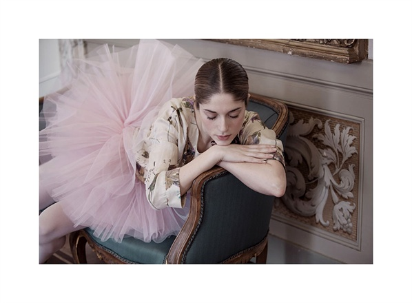 Ballerina in Erika Cavallini for Vogue Italy seen on Hello Lovely