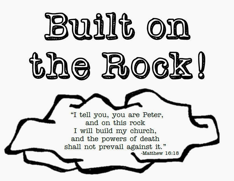Look to Him and be Radiant: Built on the Rock CCD Theme